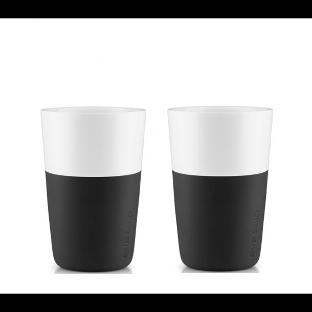 Eva Solo Café Latte Krus 36 cl. 2 stk. - Sort