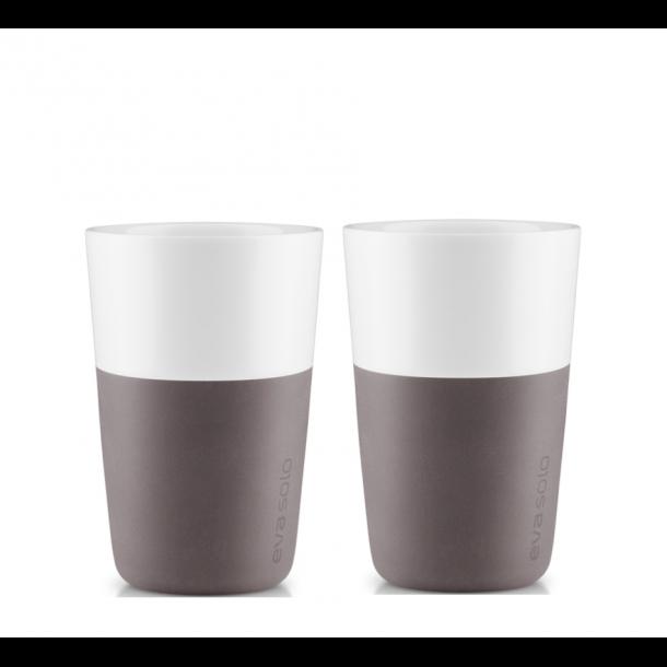 Eva Solo Café Latte Krus 36 cl. 2 stk. - Grå