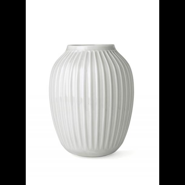 Hammershøi Vase 25 cm. Hvid