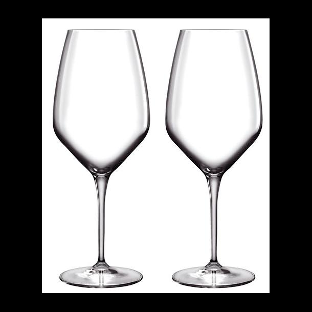 LB Atelier Hvidvinsglas Riesling 2 stk. Klar - 44 cl.