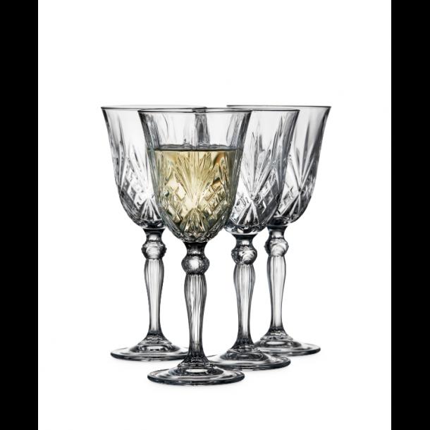 Lyngby Glas Melodia Hvidvinsglas 21 cl. 4 stk.